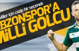 Trabzon'a İsveç'ten milli golcü!