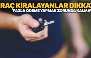 Türkiye'de araç kiralayacak gurbetçilere 'belge'...