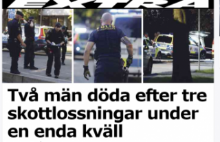 İsveç'in başkenti Stockholm'de ardı...