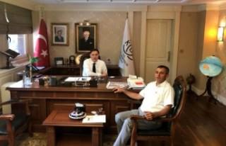 İsveç İslam Federasyonu Başkanı Akan, Ankara'da...
