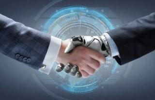 İsveç'te yapay zekâlı robotla iş görüşmesi