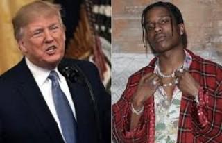 Trump, İsveç'ten ünlü rap şarkıcısının...