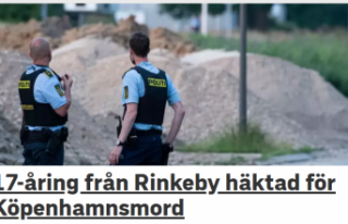 İki kişinin cinayeti ile ile ilgli Rinkeby'den...
