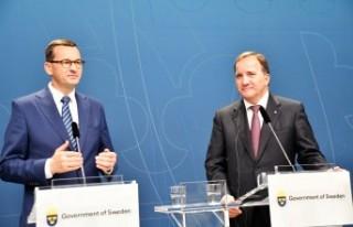 Polonya Başbakanı Mateusz Morawiecki İsveç'te