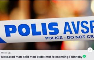 Rinkeby'de halkın üzerine ateş açıldı