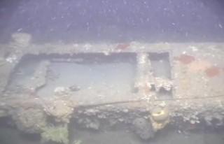 Çanakkale Savaşı'nda batan İngiliz denizaltısı...