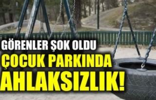 İsveç'te çocuk parkında ahlaksızlık