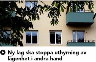 İsveç'te ikinci elden ev kiralama yasaklanıyor