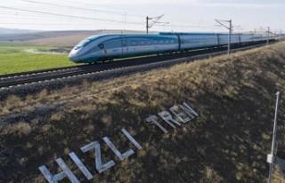 Türkiye, en geniş hızlı tren hattında zirveyi...