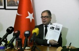 Büyükelçi Yunt, İsveçli gazetecilere Barış...