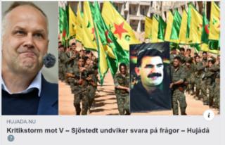 İsveç Sol Parti Başkanı 'YPG' sorusuna...