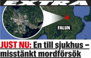 İsveç'te bir genç bıçaklandı