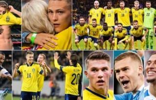İsveç, Avrupa Şampiyonası kadrosunda forma kapmak...