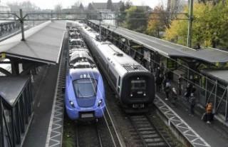 İsveç'te 2020 yılında demiryolunda ulaşım...
