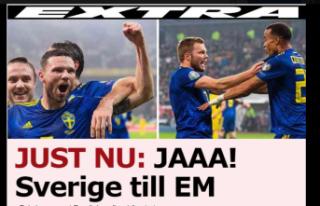 İsveç, Euro 2020'ye gitmeyi garantiledi!