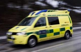 İsveç'te arabanın çarptığı kadın hayatını...