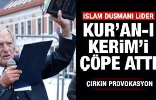 Norveç'te Kur'an-ı Kerim üzerinden çirkin...