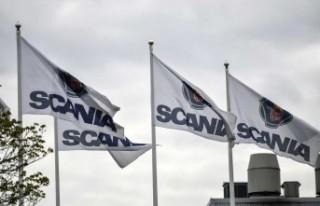 Scania'nın Södertälje fabrikasında yangın