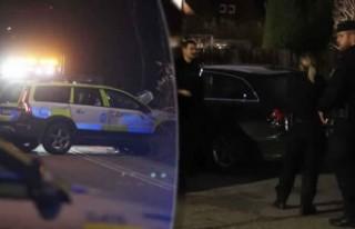 Stockholm'de dramatik kovalamaca - iki polis...
