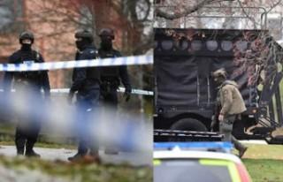 Sunbyberg'de bir evde silah sesleri - Polis özel...