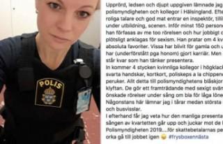 Cinsiyetçi ayrımcılık İsveçli kadın polisi...