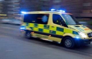 Geyiğe çarpan Ambulans sürücüsü öldü