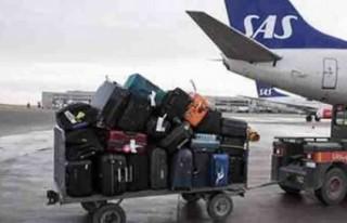 İskandinavya devi SAS Havayollarında kayıp bagaj...