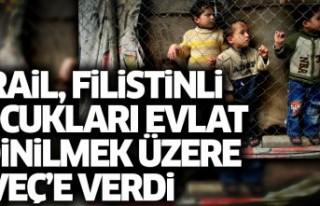İsrail, 192 Filistinli çocuğu evlat edinilmek üzere...