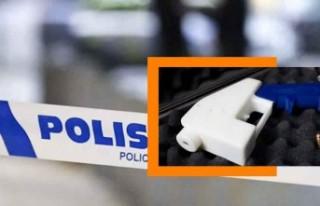 İsveç'te bir kadın 3 boyutlu yazıcıyı silaha...