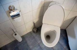 İsveç'te eski eşin tuvaletine gizli kamera...