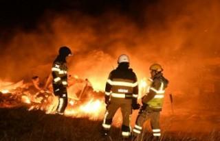 İsveç'te tarihi hamam çıkan yangında kül...
