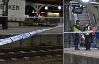İsveç'te tren istasyonunda korkunç olay -...