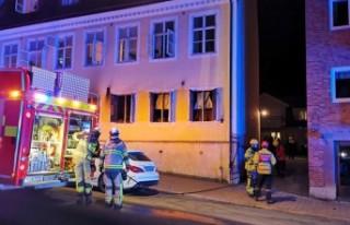 İsveç'teki yangında bir kadın ağır yaralandı