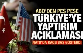 Kaos patladı! ABD'den peş peşe Türkiye'ye...