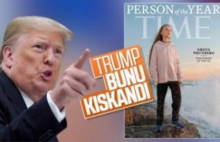 Trump, İsveçli Greta'yı kıskandı