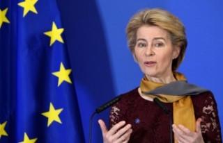 Yeni Avrupa Komisyonu Başkanı Ursula von der Leyen,...