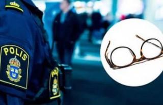 İsveç'te 650 bin kronluk gözlük ve makyaj...