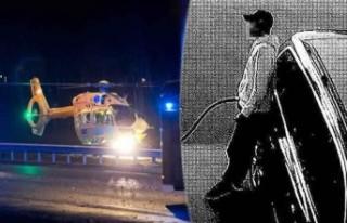İsveç'te çılgın sürücü, polisle girdiği...