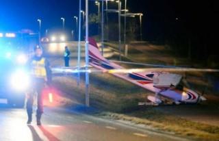 İsveç'te meydana gelen uçak kazasının ayrıntıları...