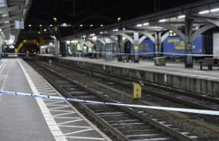 İsveç'te trenin önüne atılan kadın olayında...