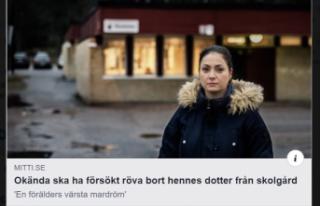 İsveç'te Türk kız çocuğunun kaçırılmaya...