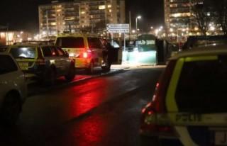 Jordbro'da bir kişi vuruldu