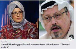 Suudi Arabistan'ın kaşıkçı cinayeti İsveç...