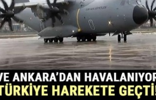Türkiye Virüs bölgesindeki vatandaşlarını almak...