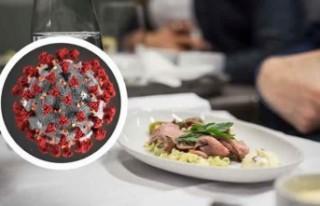 Arlanda'da yemek yerken dikkat! Koronavirüs...
