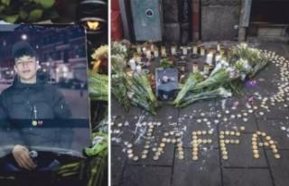 İsveç'te öldürülen 15 yaşındaki göçmen...