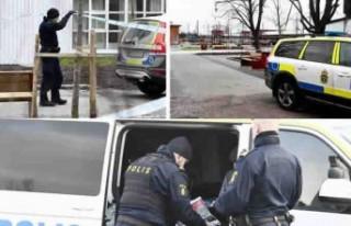 İsveç'te soygun: Soyguncuların bomba olduğu...
