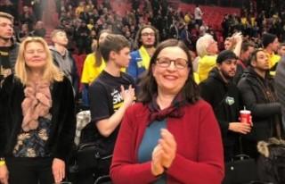 İsveçli bakandan Türk seyircisine teşekkürler