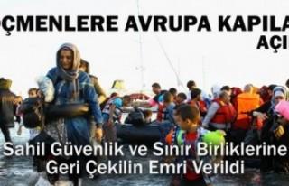 Türkiye'den flaş karar: Suriyeli mültecilere...
