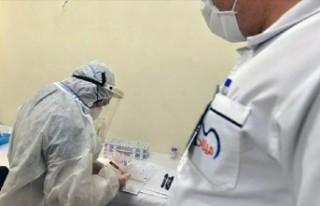 103 yaşındaki kadın koronavirüsü yendi